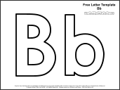 printable letter b outline print letter b letter b template www pixshark images galleries 570